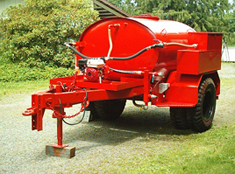 600 GALLON FIRE TRAILER