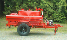 300 Gallon Fire Trailer